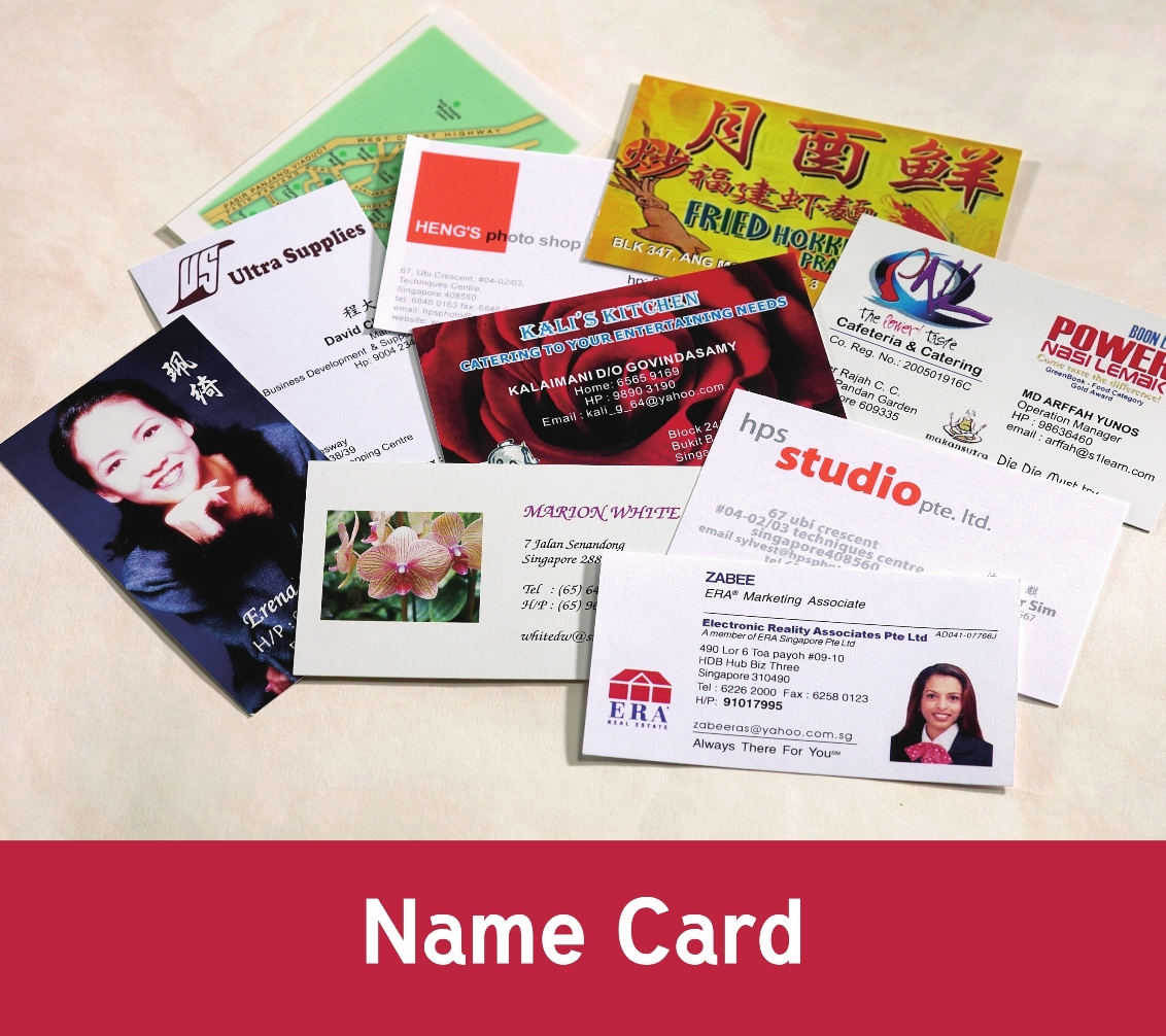 Business Name Card printing from Ultra Supplies Singapore | Ultra ...