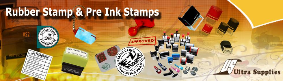 Ultra Supplies Singapore Rubber Stamp & Pre Ink Stamps