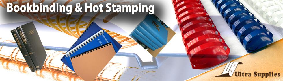 Book Binding and Hot Stamping services in Singapore by Ultra Supplies Queensway