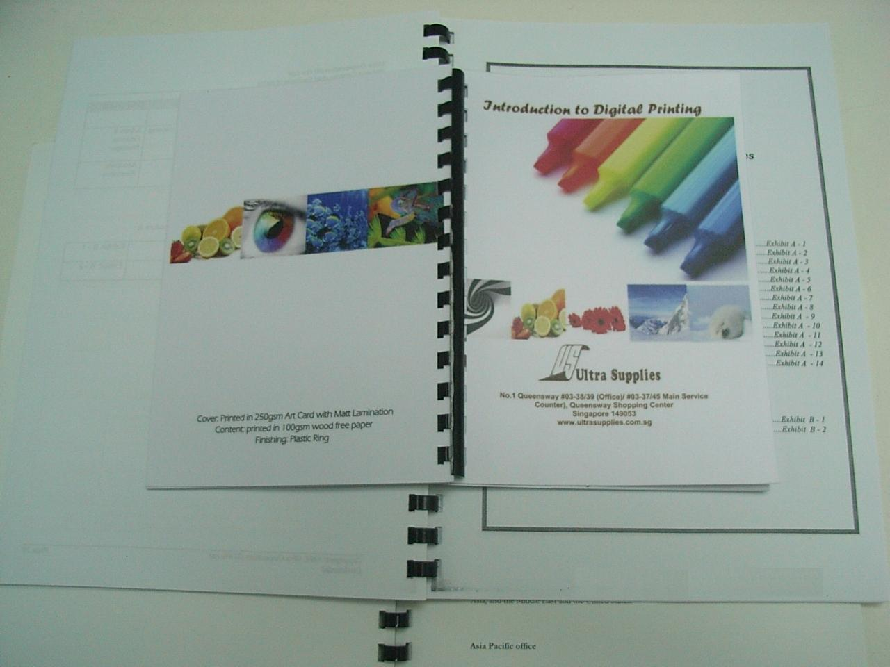 Book Binding solutions from Ultra Supplies Singapore | Ultra Supplies