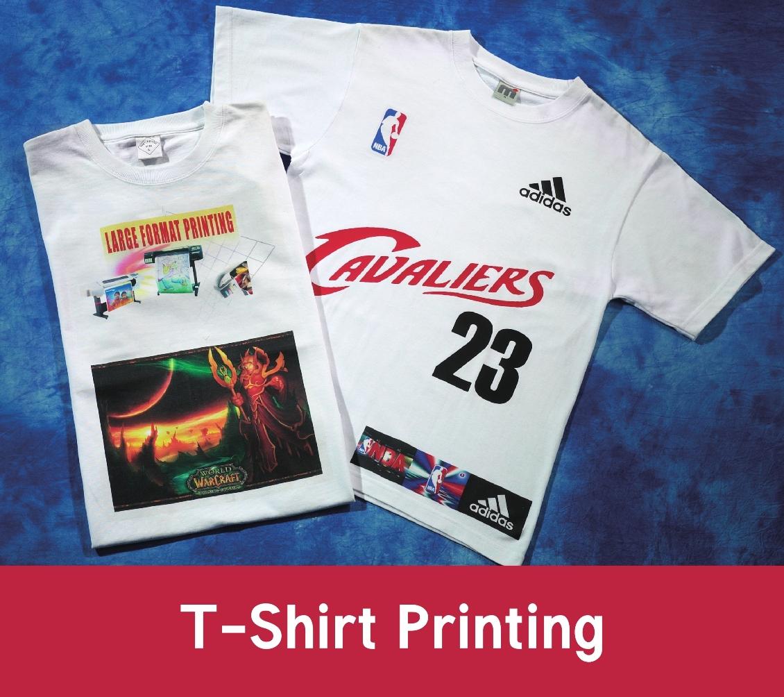 Tee shirt printing services singapore ultra supplies for T shirt printing services